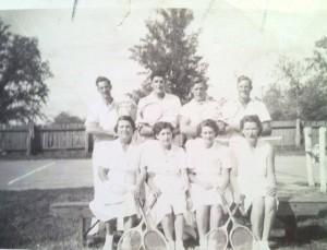Milawa Tennis Team 1946